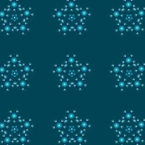 Flowery pentagone