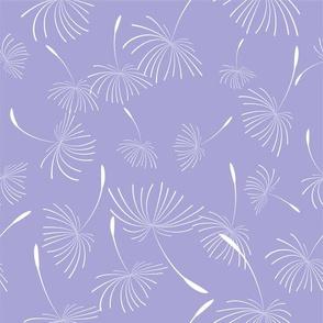 Wild Garden Dandelion Purple