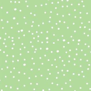 Wild Garden Polka Dot Green