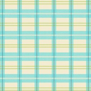 NW Plaid Cream
