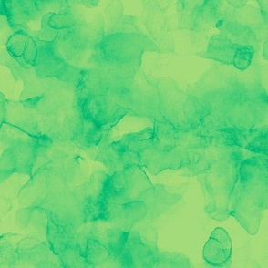 splash in serene greens