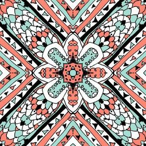 Doodle4 Mint & Coral 18