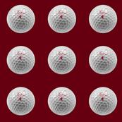 custom order - personalized golf ball