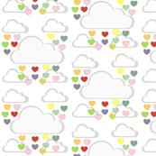 Rainbow Heart Showers