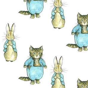 Peter Rabbit + Tom Kitten