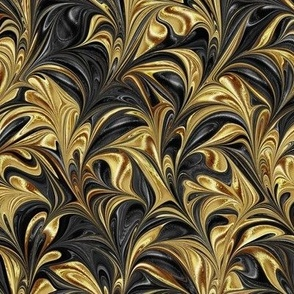 Metallic-BlackGold-Swirl