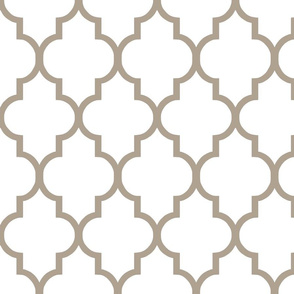Quatrefoil in Cafe
