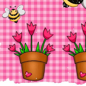 Pink_GINGHAM_BeeS