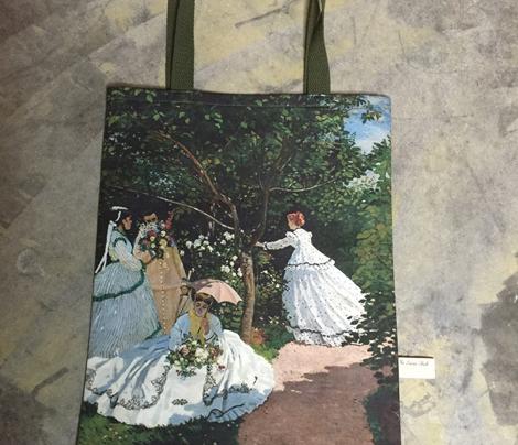 Monet Garden Tote