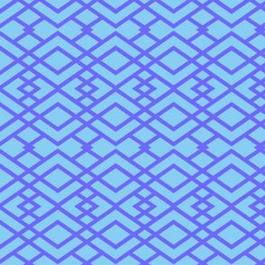 Blue Triangle Lattice