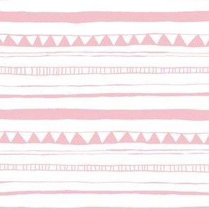 Drawn Stripe Pink