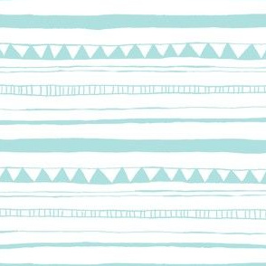 Drawn Stripe Blue