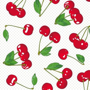 Grocery Bag full of Cherries!