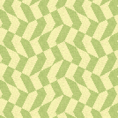 green tea chevron checker