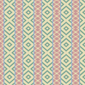 It's the Southwest, Baby! Patterned Stripes