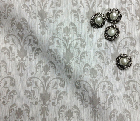 Soft Baroque Pattern Gray