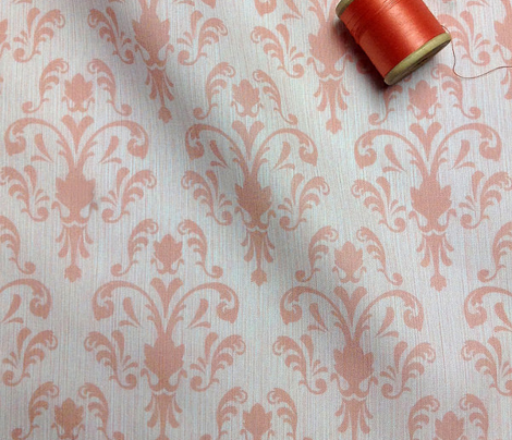 Soft Baroque Pattern Pink