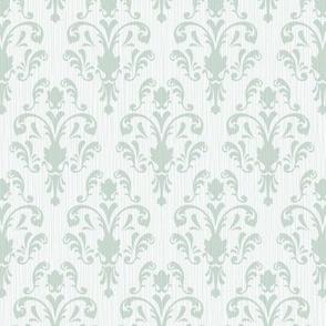 Soft Baroque Pattern Aqua