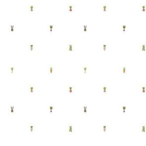 Vegetable Garden Polka Dots