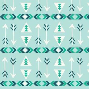 Striped Arrows