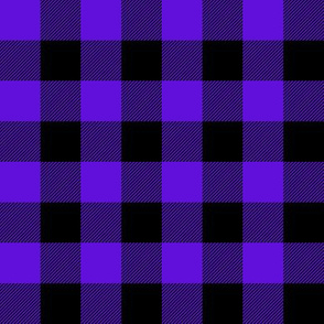 Buffalo Check - royal purple