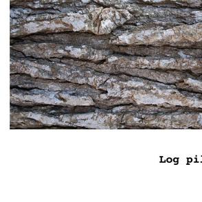 Log Bolster Pillow