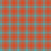 1/2 scale MacQuarrie tartan, weathered