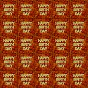 Coffee Bean Happy Birthday