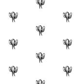 Sketchy cactus