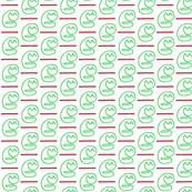 Paper Clip Cat Green
