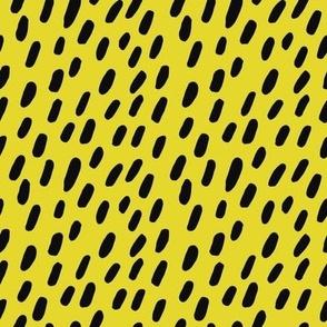 Chartreuse spots