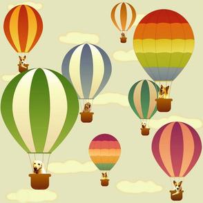 Hot Air Balloon Dogs