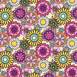 HAPPY! Flower Garden- Mini Brights