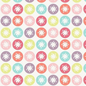 HAPPY! Flower Polka Dots