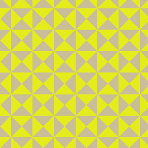 Trigonometry Neon Yellow on Natural