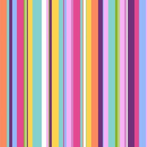 HAPPY! Mini Stripe- Brights
