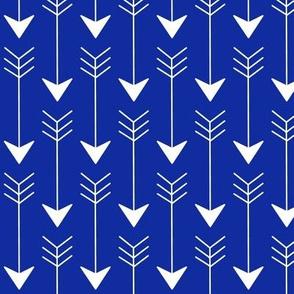 Arrow in Blue