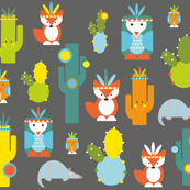 kachina cactus creatures