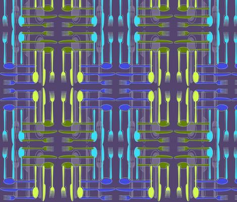 Cutlery Plaid