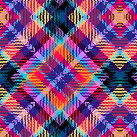 Madras Kaleidoscope Plaid