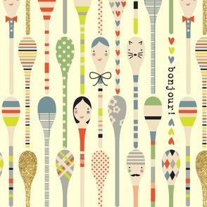 Les Spoons
