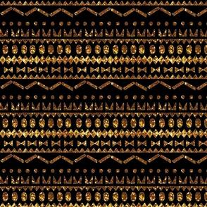 Gold&black ethnic