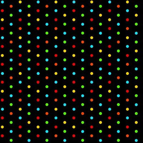 Multi Dots On Black