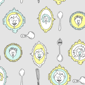 Spoon Koalas Yellow