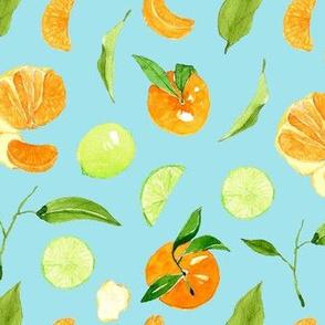 Citrus crush - BABY BLUE