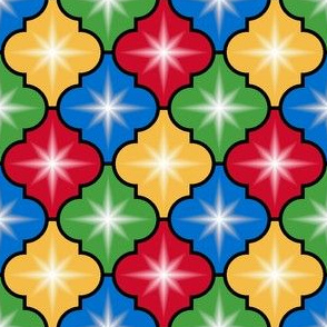 c-rhombus star 4 - xmas baubles