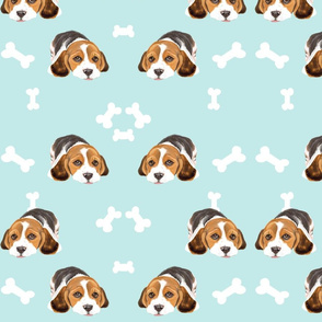 Spoonflower_Beagles