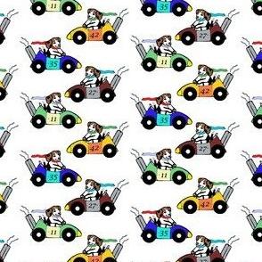 Automo-Beagle Race Team - White
