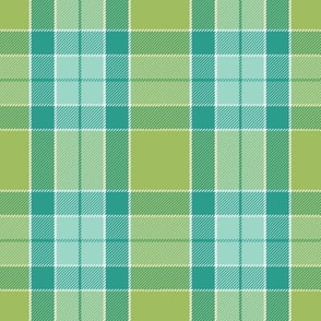 green tea tartan