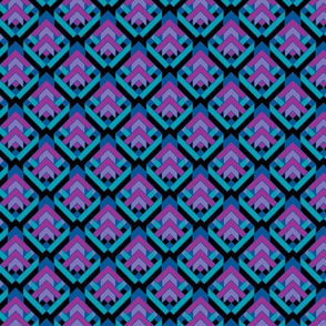 Arrows purple teal -ch